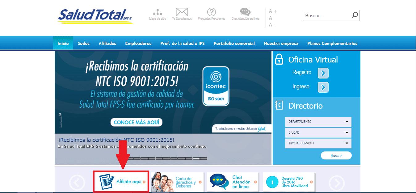Afiliado Saludtotal