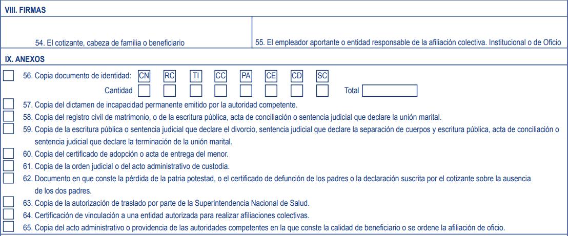 Afiliación Capital Salud 3