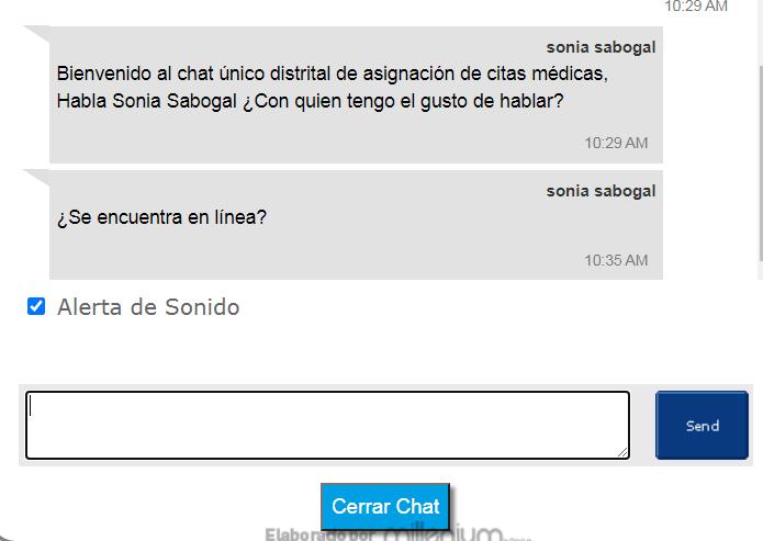Capital Salud Chat Citas Médicas