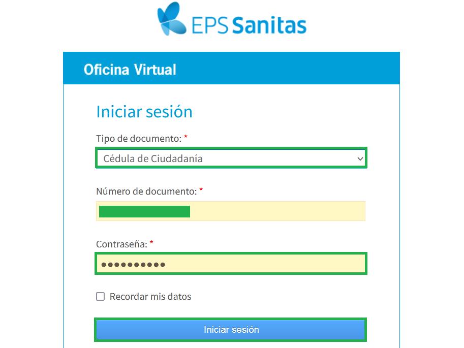 Certificado Afiliacion Sanitas Eps (2)